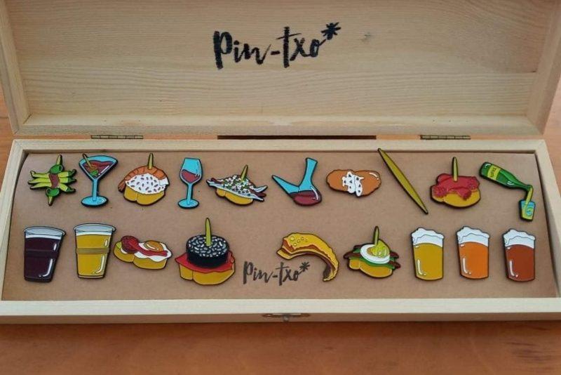 caja de pines