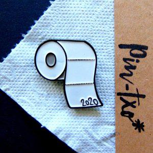 pin de papel higiénico,