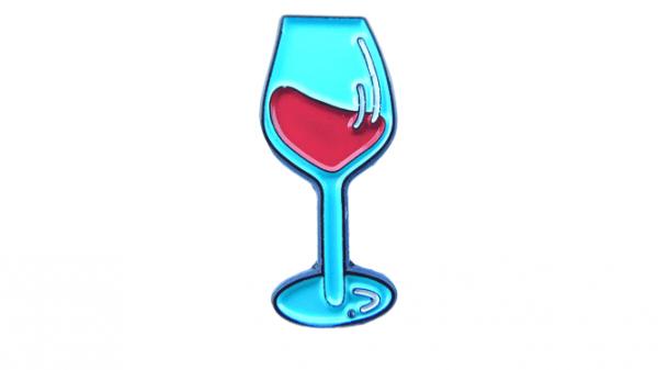 pin de copa de vino