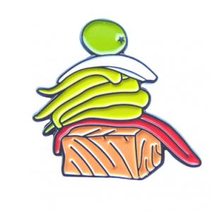 pin de pintxo de taco de bonito
